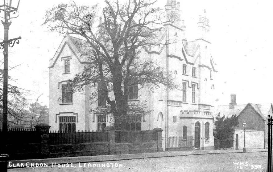 Clarendon House, Leamington Spa.  1900s |  IMAGE LOCATION: (Warwickshire County Record Office)