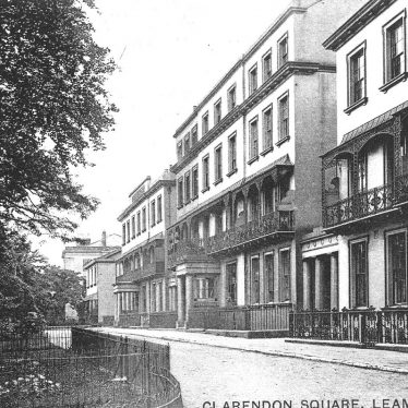 Leamington Spa.  Clarendon Square