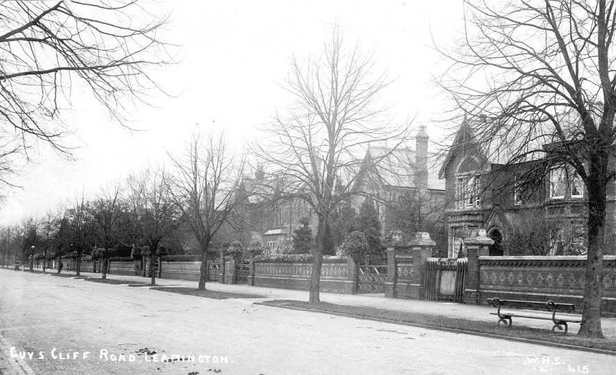 Guy's Cliffe Avenue, Leamington Spa. 1900s |  IMAGE LOCATION: (Warwickshire County Record Office)
