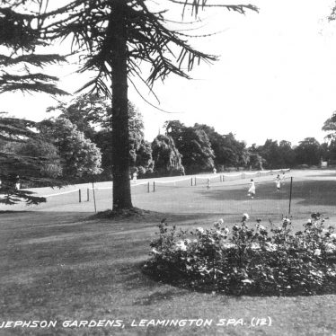 Leamington Spa.  Jephson Gardens