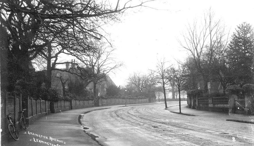 View of Lillington Avenue, Leamington Spa.  1910s |  IMAGE LOCATION: (Warwickshire County Record Office)