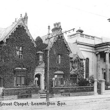 Leamington Spa.  Spencer Street Chapel