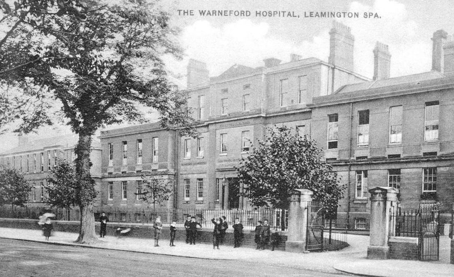 Warneford Hospital, Radford Road, Leamington Spa.  1910s |  IMAGE LOCATION: (Warwickshire County Record Office)