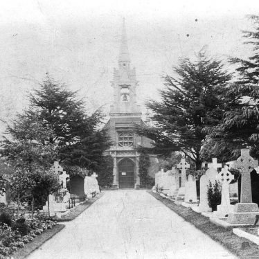 Leamington Spa.  Old Milverton Road Cemetery