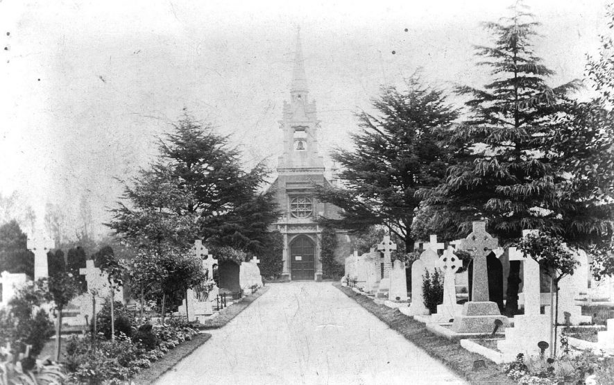 Milverton Cemetery.  1910s |  IMAGE LOCATION: (Warwickshire County Record Office)