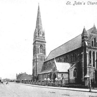 Leamington Spa.  St John's Church,  Tachbrook Street