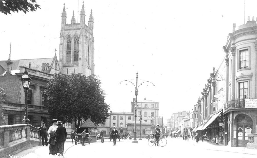 All Saints Church, Leamington Spa.  1910s |  IMAGE LOCATION: (Warwickshire County Record Office)
