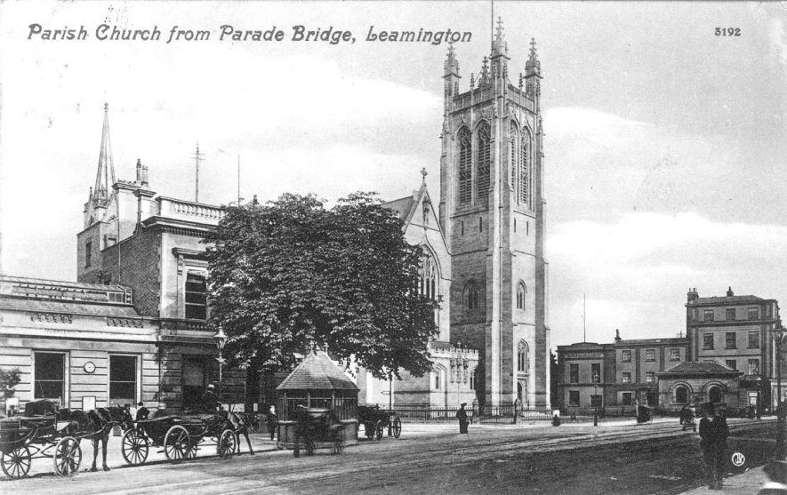 All Saints Church, Leamington Spa.  1910s |  IMAGE LOCATION: (Warwickshire County Record Office)