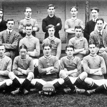 Leamington Spa.  Alliance Football Club