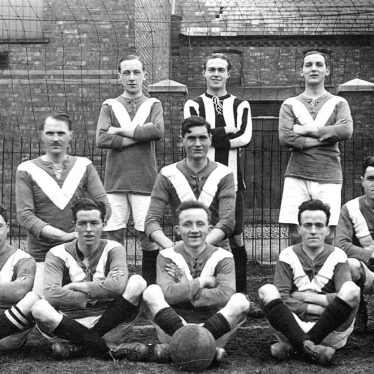 Leamington Spa.  Y.M.C.A. 'A'  football team