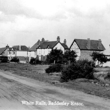 Baddesley Ensor.  White Rails