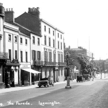 Leamington Spa.  Parade