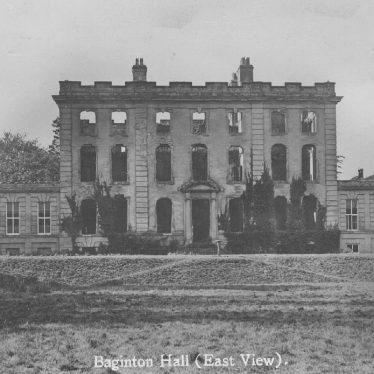 Baginton.  Baginton Hall