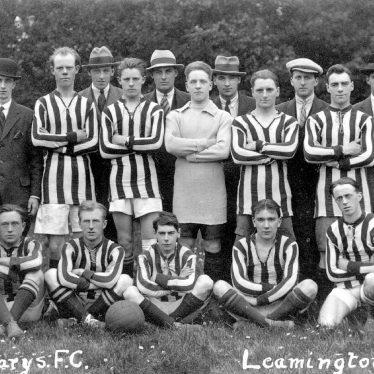 Leamington Spa.  St Mary's Football Club