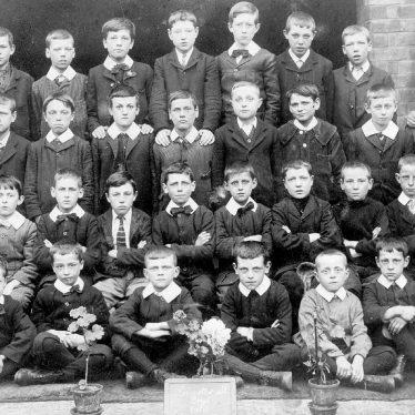 Leamington Spa.  Leicester Street Boy's School group