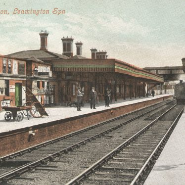 Leamington Spa.  Avenue Road Railway Station