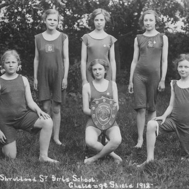Leamington Spa.  Shrubland Street Girls School
