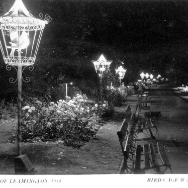 Leamington Spa.  Lights of Leamington