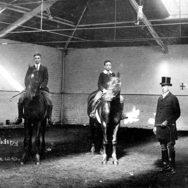 Leamington Spa.  Macgreger's Riding School