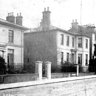 Leamington Spa.  Brunswick Street