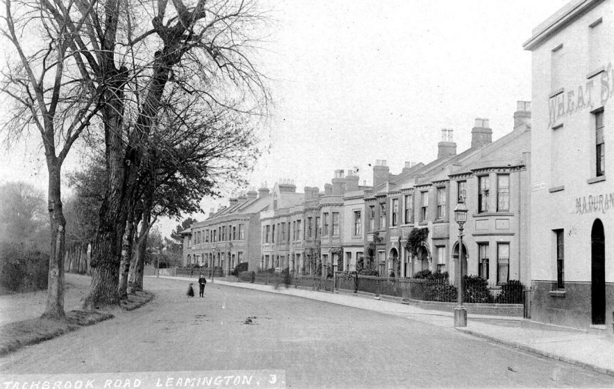 Tachbrook Road, Leamington Spa.  1900s |  IMAGE LOCATION: (Warwickshire County Record Office)
