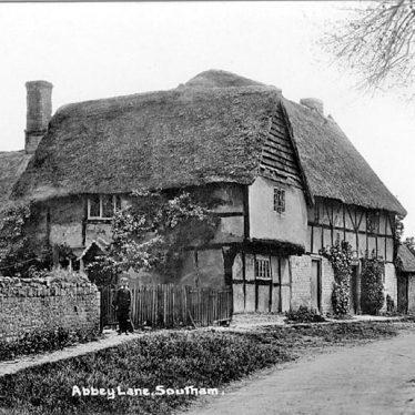 Southam.  Abbey Lane