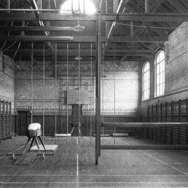 Leamington Spa.  College gymnasium