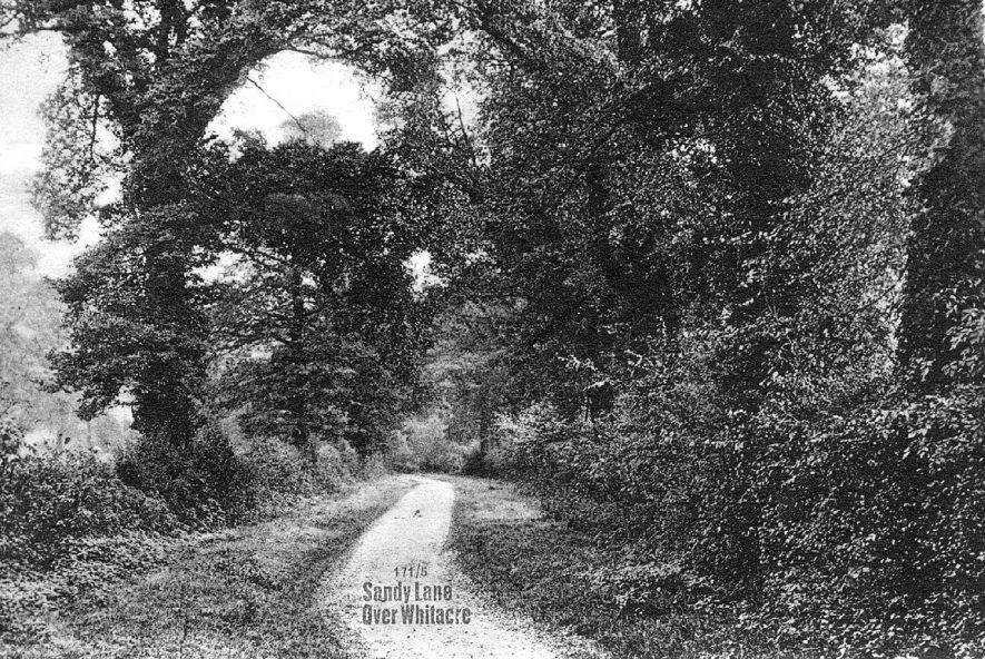 Sandy Lane, Over Whitacre.  1920s    IMAGE LOCATION: (Warwickshire County Record Office)