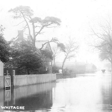 Nether Whitacre.  Floods