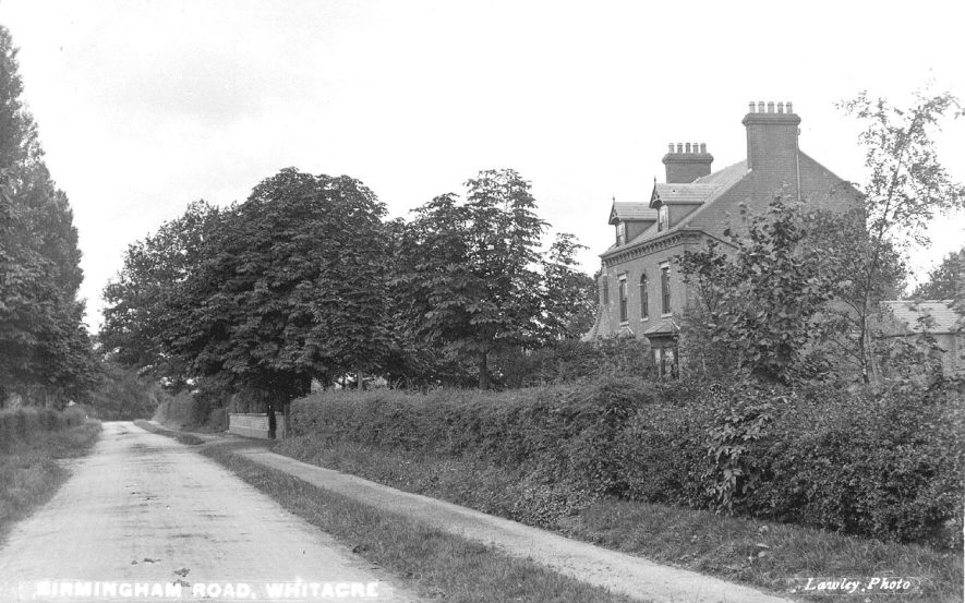 Birmingham Road, Nether Whitacre.  1910s |  IMAGE LOCATION: (Warwickshire County Record Office)