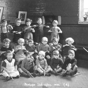 Bishops Itchington.  School Percussion Band