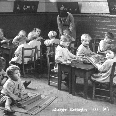 Bishops Itchington.  School infants class