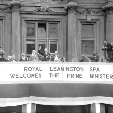 Leamington Spa.  Anthony Eden