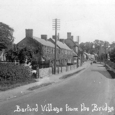 Barford.  Village street