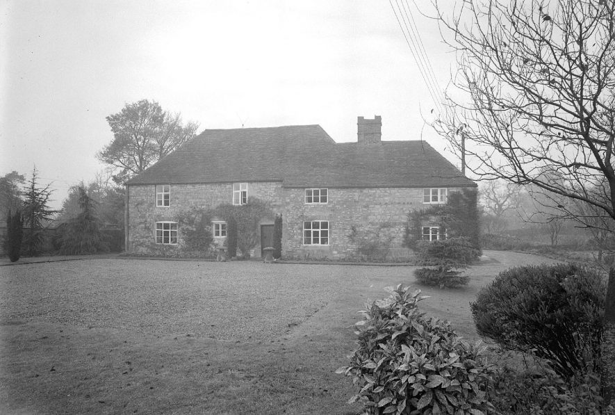 The Old House, Gaydon.  1958 |  IMAGE LOCATION: (Warwickshire County Record Office)