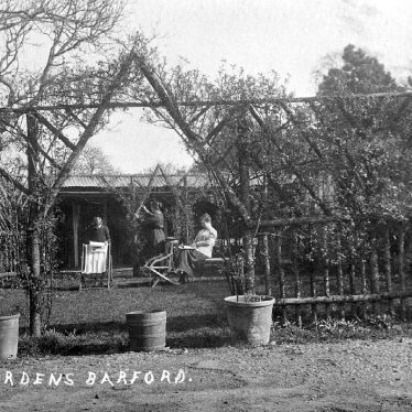 Barford.  Tea Gardens