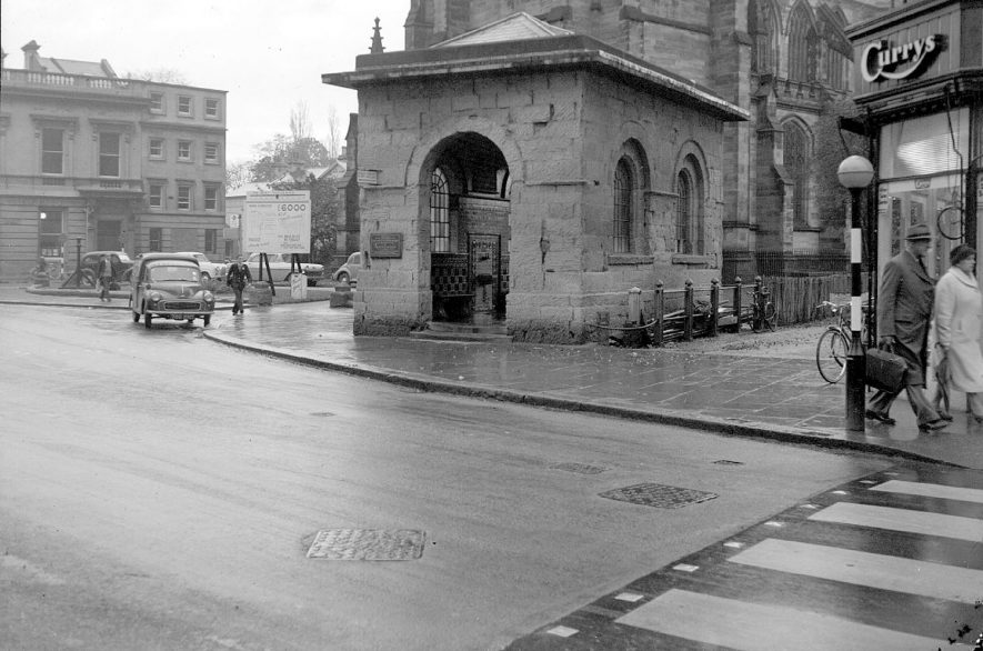 The Aylesford Well, Church Walk, Leamington Spa.  1950s |  IMAGE LOCATION: (Warwickshire County Record Office)