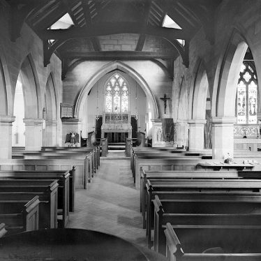 Lillington.  Church interior