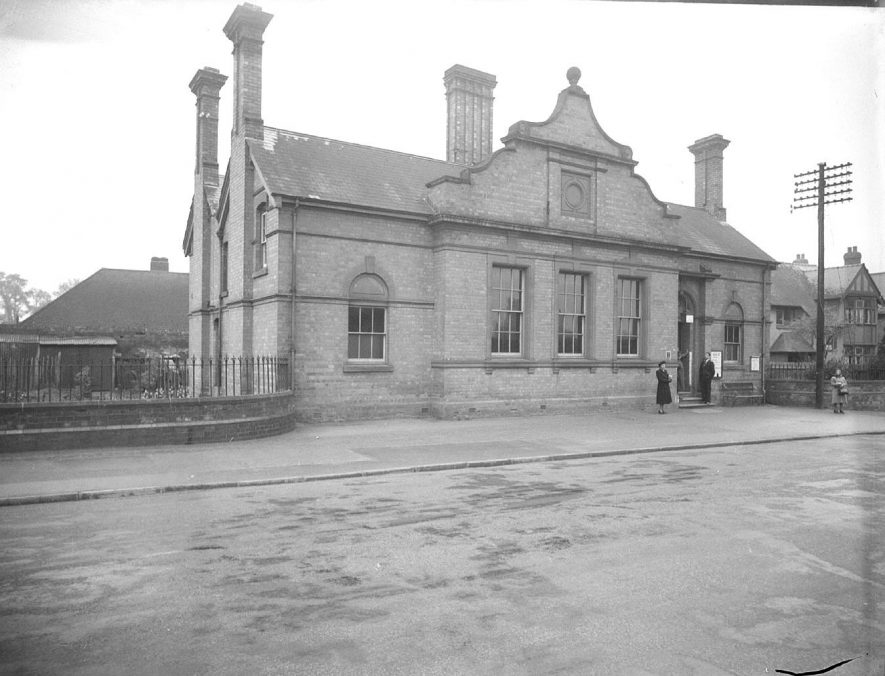 Lillington library.  1949 |  IMAGE LOCATION: (Warwickshire County Record Office)