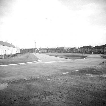 Lillington.  Housing estate
