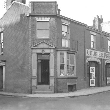 Leamington Spa.  Courier Press exterior