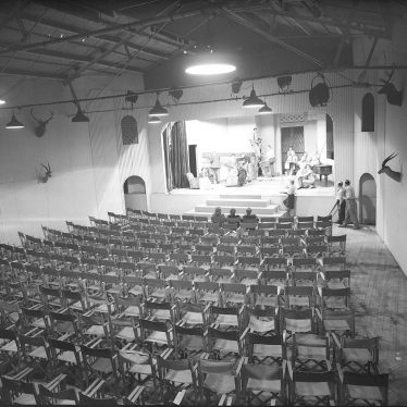 Leamington Spa.  Loft Theatre, interior