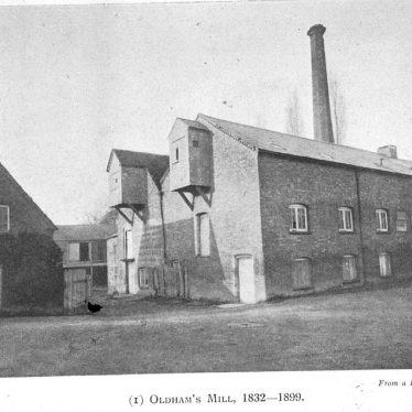 Leamington Spa.  Oldham's Mill