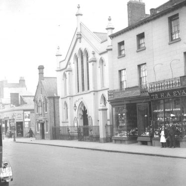 Leamington Spa.  Warwick Street, Baptist Chapel