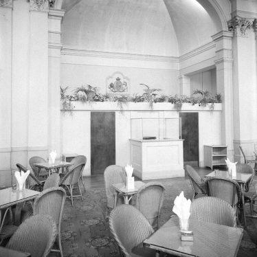 Leamington Spa.  Pump Rooms, tea room