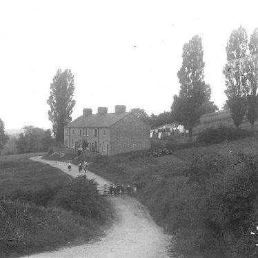 Napton on the Hill.  The Poplars.