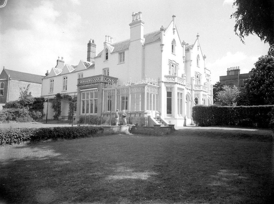 Kingsley School (rear view of