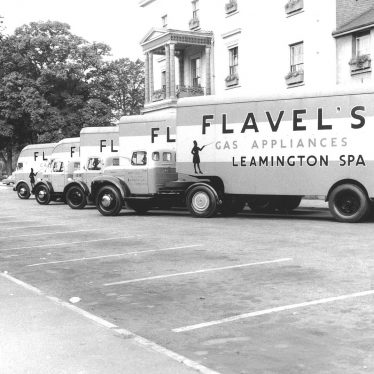 Leamington Spa.  Flavel's lorries