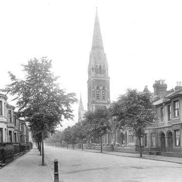 Leamington Spa.  Leicester Street