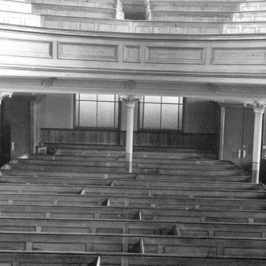 Leamington Spa.  Dale Street, Methodist Church, interior